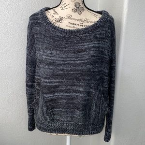 Free People Wool Blend Boat Neck Sweater Small